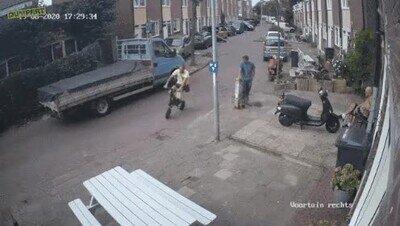 Enlace a Escapando de la policía como un ninja