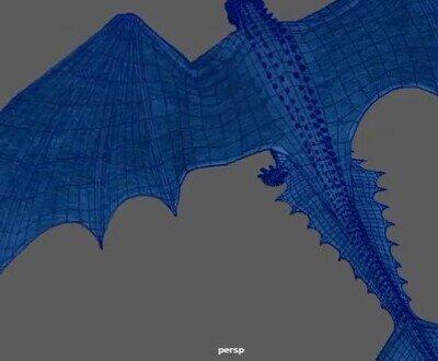 Enlace a Es una pasada la forma en la que se dobla el ala del dragón