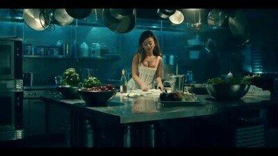 Enlace a Ojalá estar tan fabulosa cuando cocino algo después de trabajar