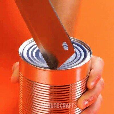Enlace a Truco para abrir una lata. Oh no...