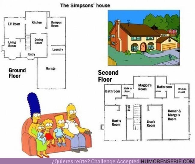 24 - SIMPSONS'S HOUSE - La casa imposible