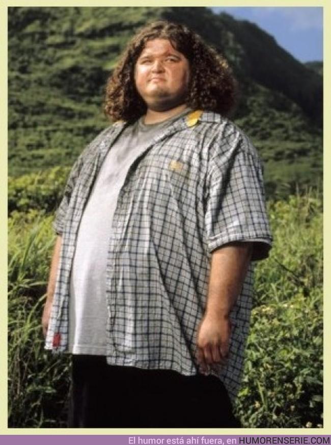 69 - HURLEY - La única persona que logra estar 6 años en una isla sin perder un Kg