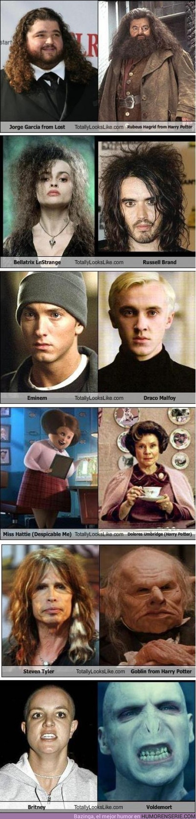 75 - HARRY POTTER - Y sus extrañas similitudes