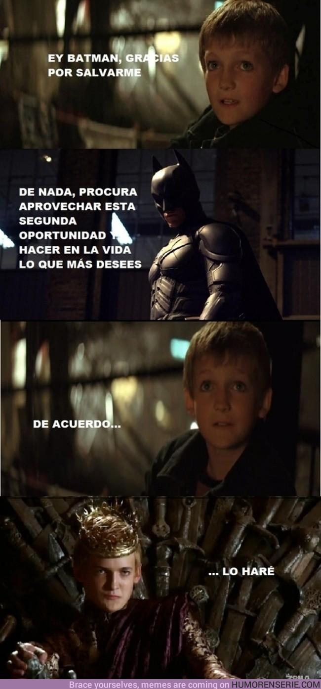 222 - BATMAN - Seguro que si lo llega a saber, le deja morir