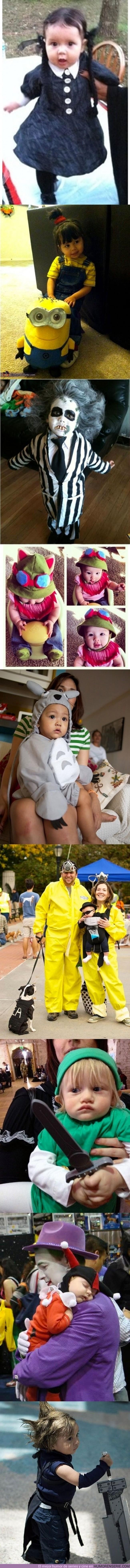 513 - DISFRACES INFANTILES - No tienen nada que envidiarle a los de los más mayores
