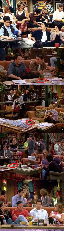 750 - ÉSE PEQUEÑO DETALLE - Que explica por qué siempre se sentaban en la misma mesa en Friends