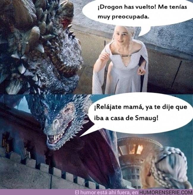 927 - Cuando tu madre es la Khaleesi - A veces es como hablarle a la pared (y luego la culpa es tuya)