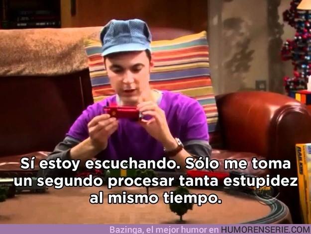 1245 - Preocúpate cuando Sheldon lleve varios segundos sin decir nada