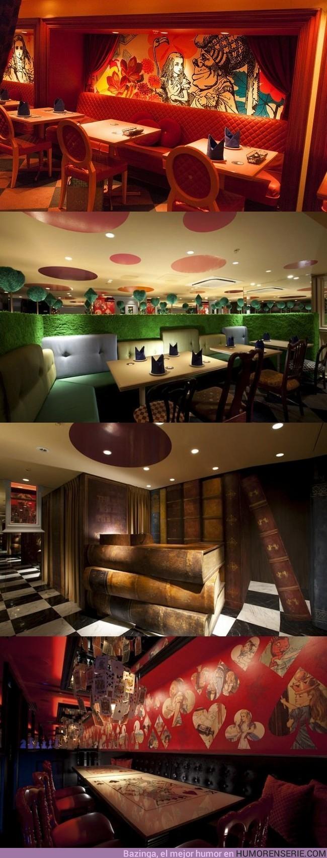 1755 - Restaurante de Tokyo dedicado a Alicia en el País de las Maravillas