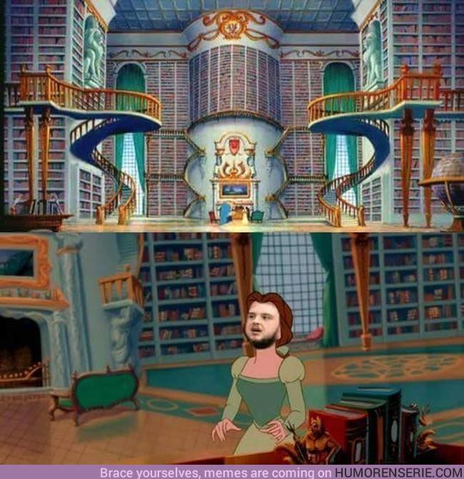 2380 - Así se sintió Sam entrando en la biblioteca de Antigua