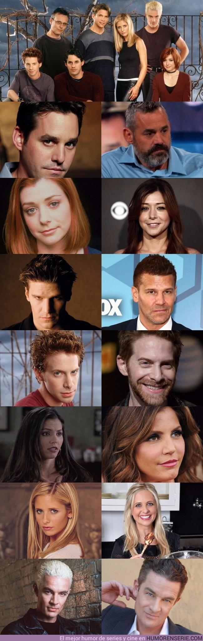 2912 - Así han envejecido los personajes de Buffy Cazavampiros