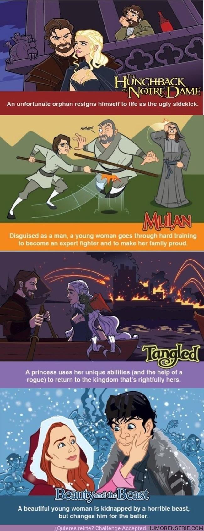 3769 - ¿Qué pasa si juntamos Juego de Tronos y Disney?