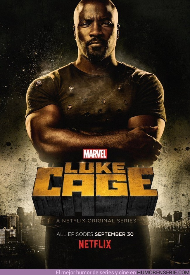 3965 - Nuevo póster de Luke Cage. Disponible el 30 de septiembre