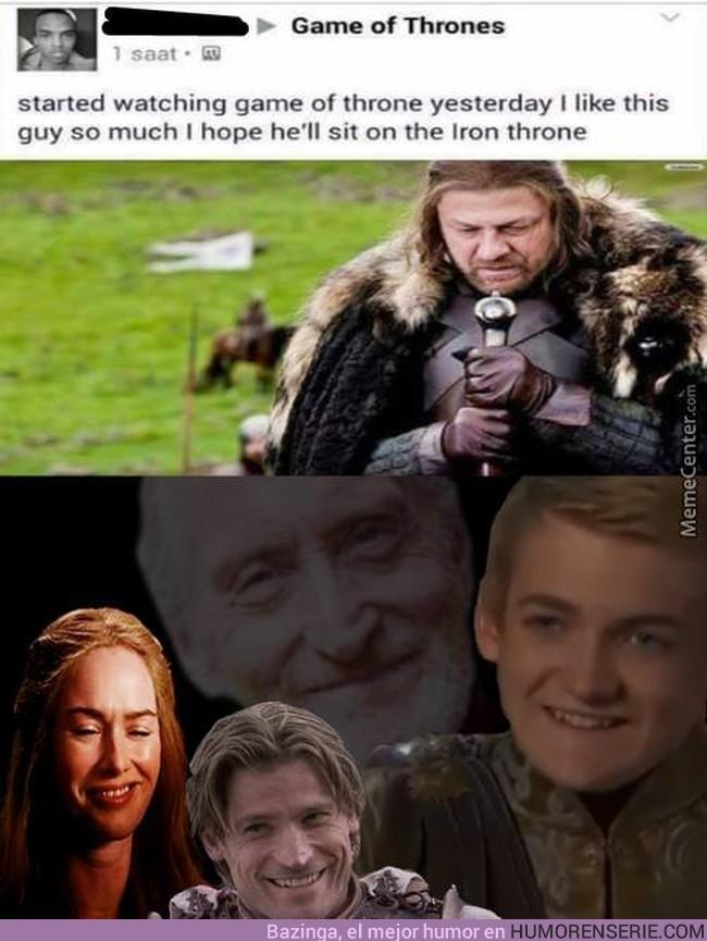 4082 - Cuando empiezas a ver Juego de Tronos y piensas en lo bien que te cae Ned