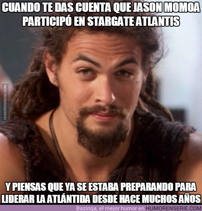 4867 - Cuando te das cuenta que Jason Momoa participó en Stargate Atlantis