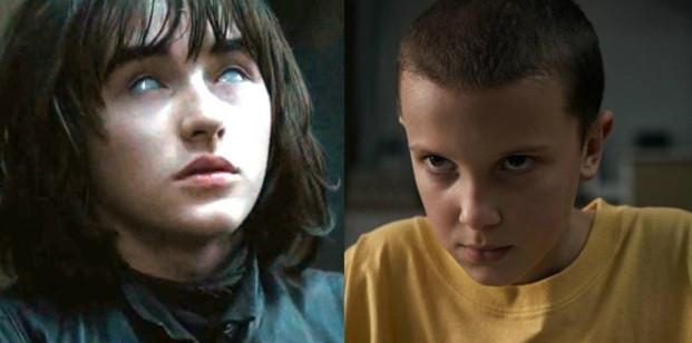 7675 - Una actriz de Juego de Tronos compara a Bran con Eleven de Stranger Things
