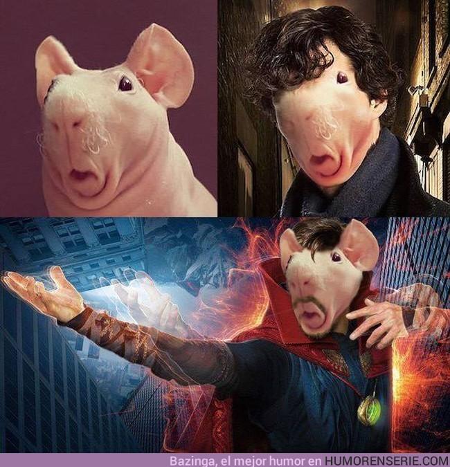 8437 - Han encontrado al doble perfecto de Benedict Cumberbatch