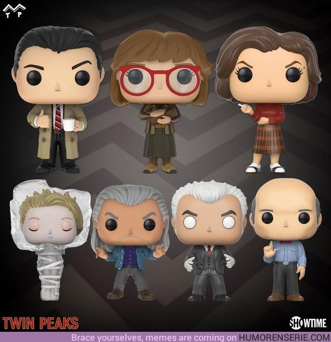 10060 - Anunciadas nuevas figuras Funko de Twin Peaks