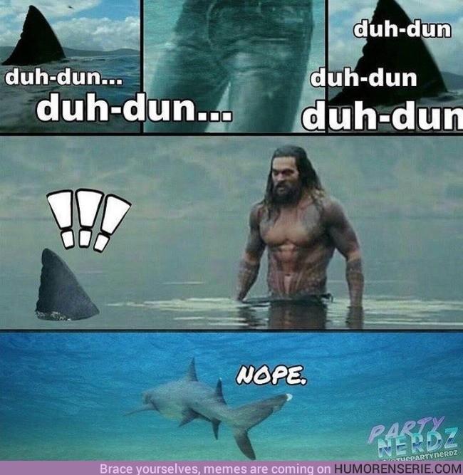 9123 - Nadie tiene las branquias de meterse con Aquaman