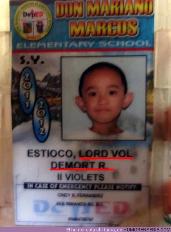 10874 - Descubren una foto de cuando Voldemort era pequeño