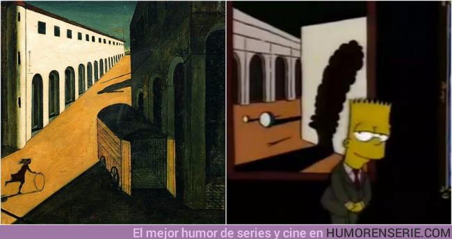 11408 - 20 obras de arte que aparecen en Los Simpson