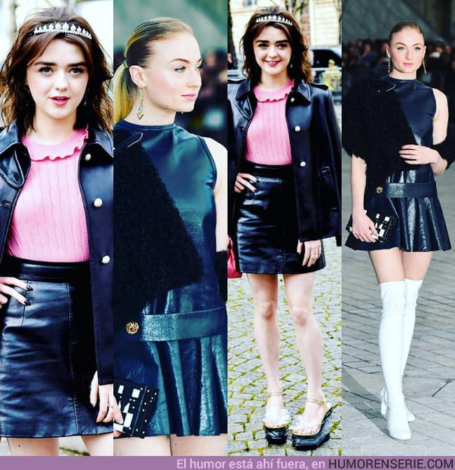11483 - Las hermanas Stark en el #ParisFashionWeek