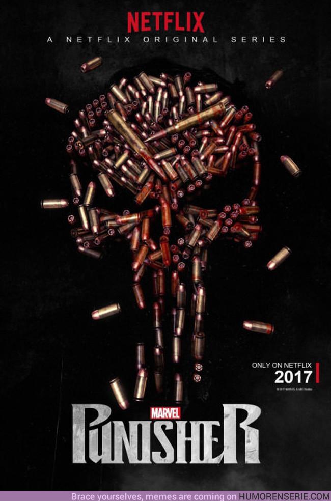 12701 - Primer poster de la serie de The Punisher en Netflix