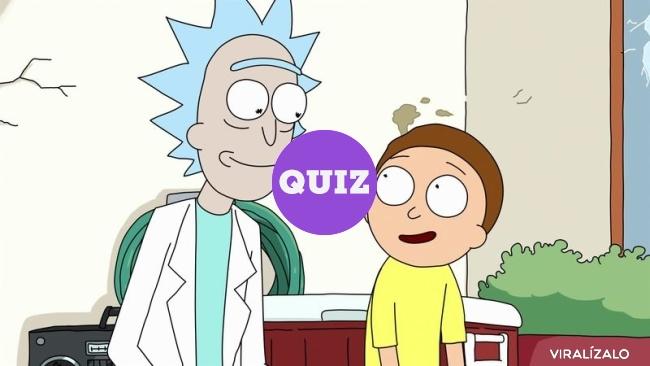 12927 - TEST: ¿A cuántos personajes de Rick y Morty conoces?