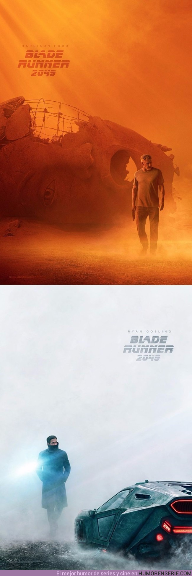 13629 - Primeros pósters oficiales de la nueva Blade Runner