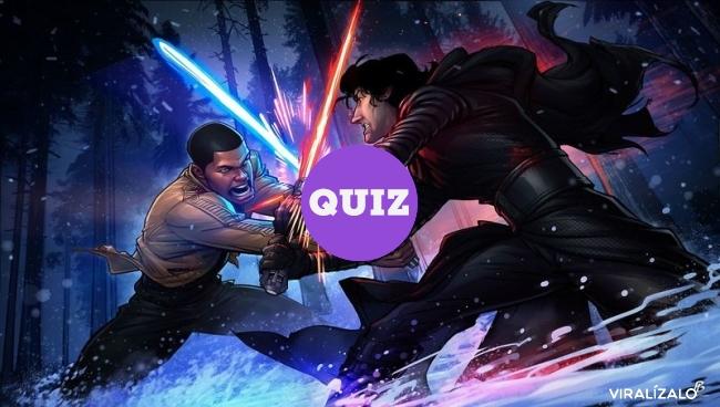 13754 - TEST: Tu personalidad determinará el color de tu espada láser.