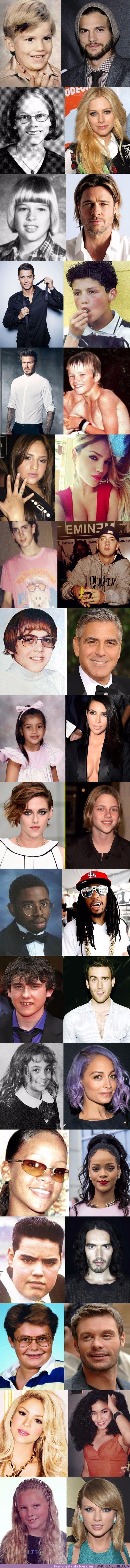 14607 - Nunca imaginarás lo feos que eran todos estas celebridades en su adolescencia