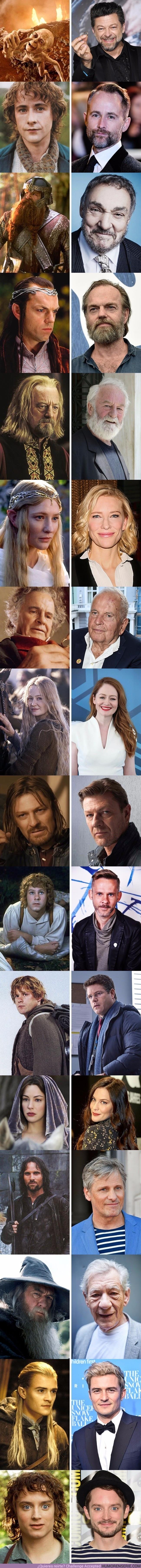 15010 - Así están los actores de la trilogía