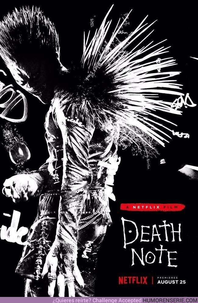 15318 - Death Note desvela la primera imagen del Ryuk de Willem Dafoe con un siniestro póster
