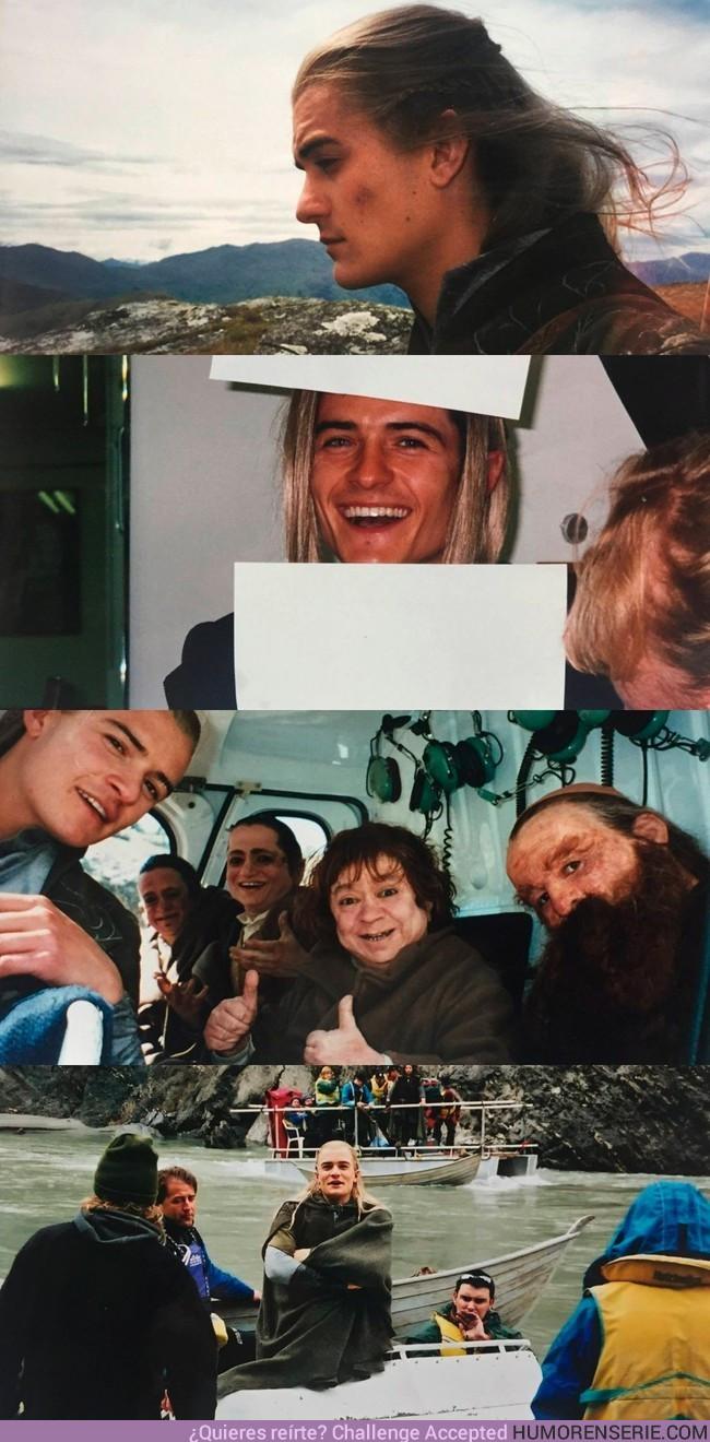 16033 - Orlando Bloom acaba de compartir estas fotos 15 años después del rodaje de El señor de los Anillos