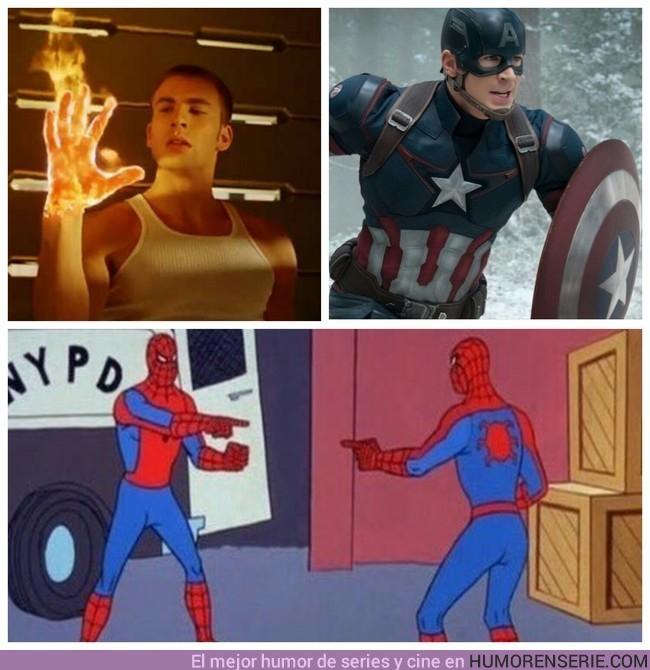 16528 - Si el Capitán América y la Antorcha Humana coincidieran en una película