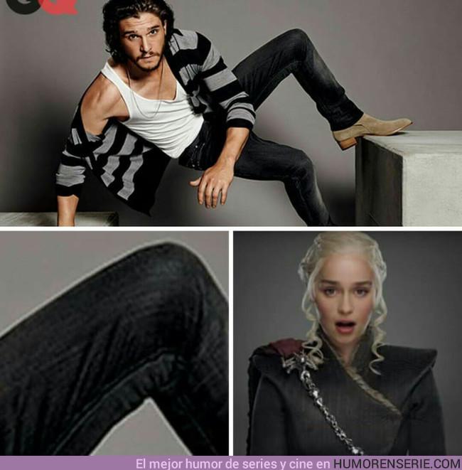 16658 - Daenerys y su obsesión con las rodillas