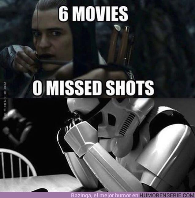 18578 - 6 películas. Ningún disparo fallado