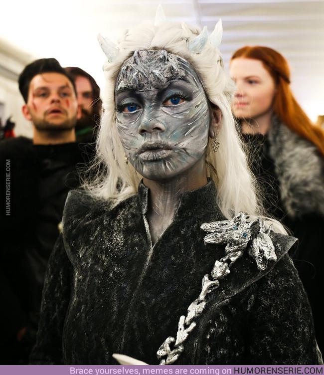 18948 - Una Daenerys Targaryen al estilo Night King.