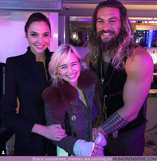 19542 - Wonder Woman también se ha unido a la fiesta entre Khal Drogo y Danny