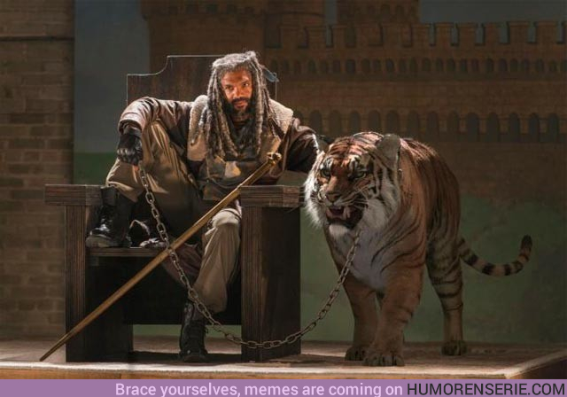 19789 - TWD: ¿Qué ocurre con Shiva en los cómics?