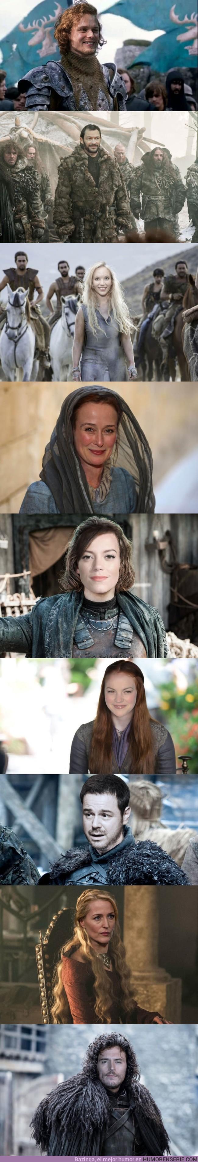 20212 - GALERÍA: Así era el casting original de los actores de Juego de Tronos