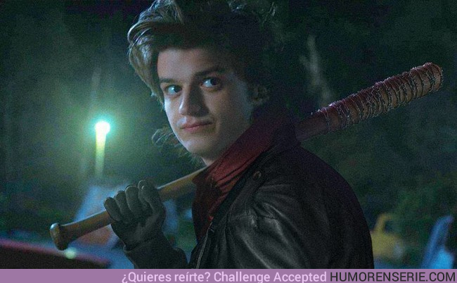 20276 - Steve Harrington es Negan en 1984