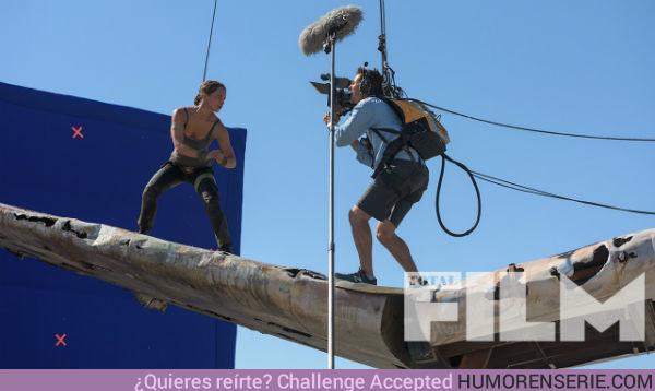 20909 - Nuevas fotos de Alicia Vikander como Lara Croft en la película de Tomb Raider