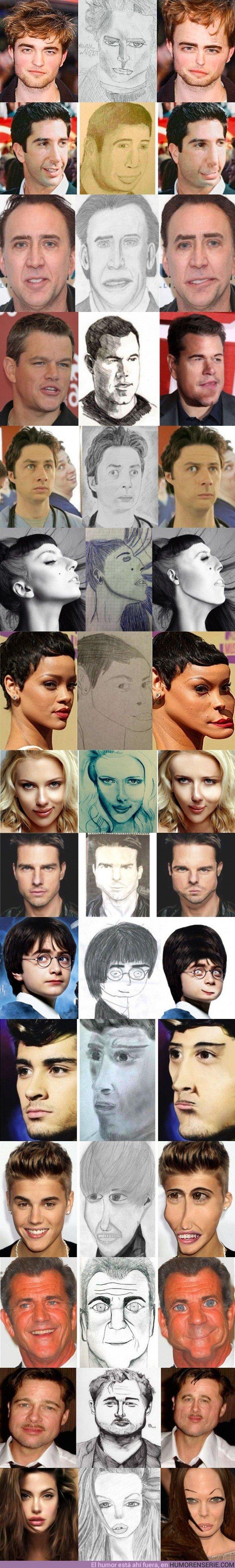 21299 - 15 veces en las que los dibujos de los famosos terminaron mal...