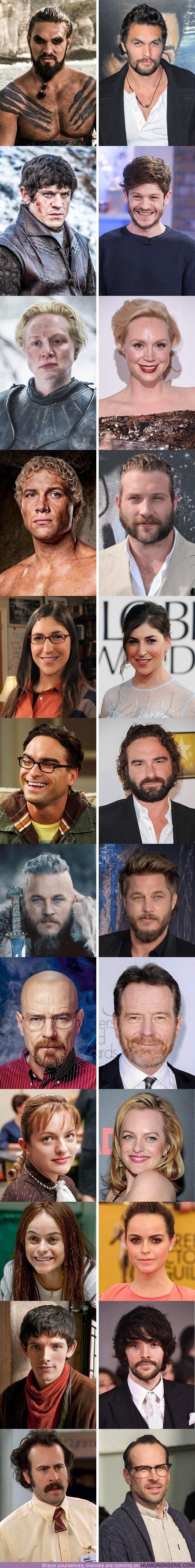 21301 - 12 actores de nuestras series favoritas que son MUY DISTINTOS en la vida real