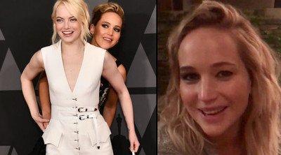 21598 - Globos de Oro Jennifer Lawrence y Emma Stone hicieron una broma que no gustó a todo el mundo