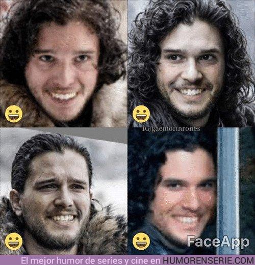 21694 - ¿Cómo sería Jon Snow si sonriera un poco más?