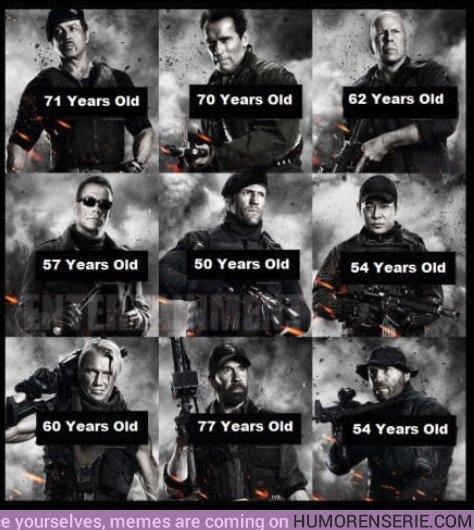 21811 - Las edades de los tipos más duros del cine