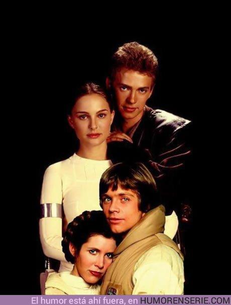 21934 - Foto de familia Skywalker