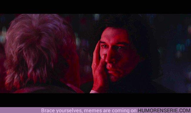 22021 - Esta interesante teoría habla de la conexión de la cicatriz de Kylo Ren con Han Solo